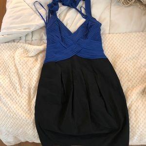 BCBG MAXAZRIA Halter Parachute Pocket Dress sz 6